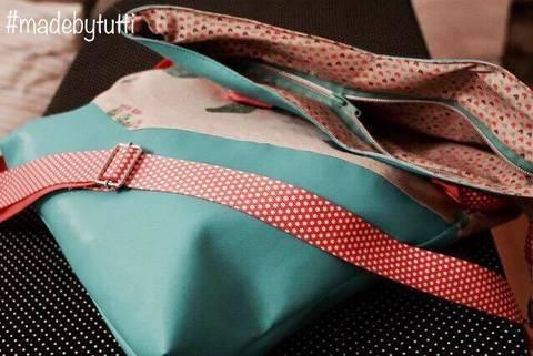 """Ebook Erweiterung zum Shopper/Falttasche #sweetBIGBAG: """"Reißverschluss einnähen"""" bei Makerist sofort runterladen"""