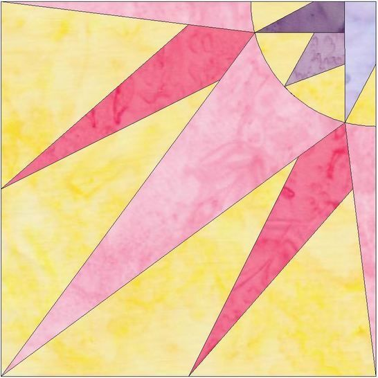 Download HC Quarter Star 2 - 10 Inch Paper Piecing Foundation Quilting Pattern - Patchwork & Quilting immediately at Makerist
