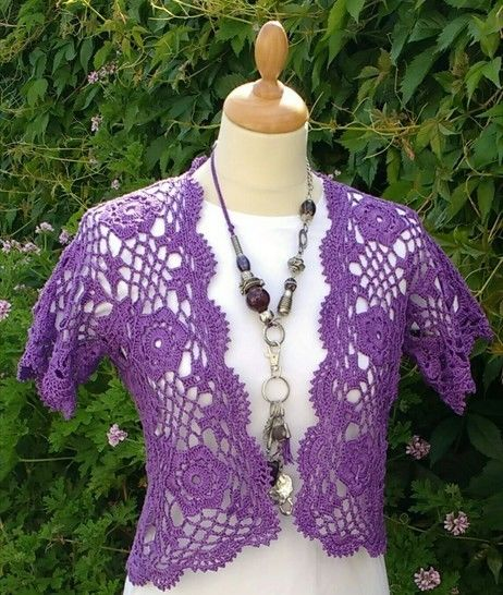 Beautiful Bolero Crochet Pattern