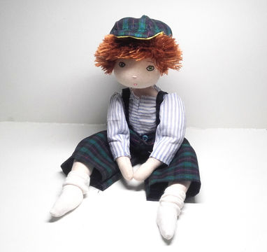 Download Rag doll sewing pattern - Little boy - Number 1 - Sewing Patterns immediately at Makerist