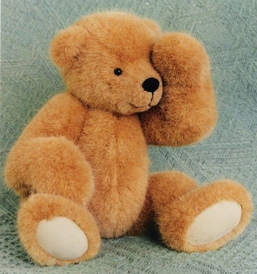 Teddy Bear Pattern And Illustrated Instructions For Benji Impressive Teddy Bear Patterns