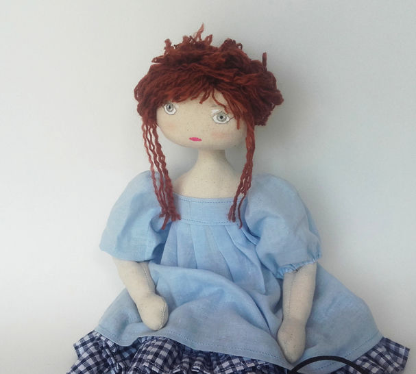 Download Rag doll sewing pattern and tutorial - 35 cm (13,65 inches) tall - Nuumber 3 - Sewing Patterns immediately at Makerist