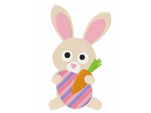 Stickdatei Hase Ostern bei Makerist sofort runterladen