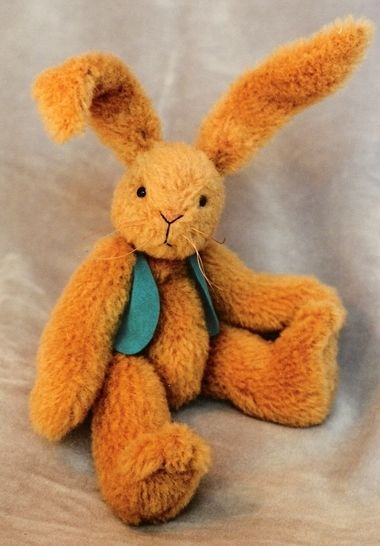 Download Bunny Rabbit Pattern and Instructions for Rupert - Sewing Patterns immediately at Makerist