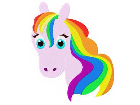 Luna Zauberpferdchen Stickdatei Pferd bei Makerist sofort runterladen