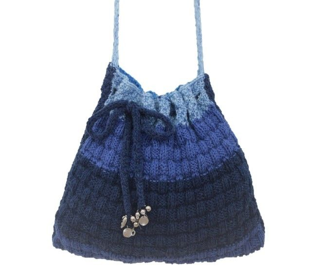 Download Blueberry Bag - Knitting Patterns immediately at Makerist