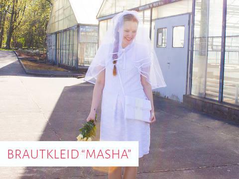 """Brautkleid / Hochzeitskleid """"Masha"""" bei Makerist sofort runterladen"""