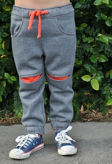 Download Children's fleece pants pattern ROSCOE PANTS pdf sewing pattern  - Sewing Patterns immediately at Makerist