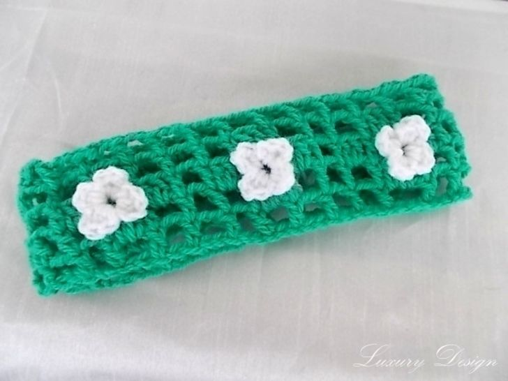 Stirnband *Spring Design No.14*