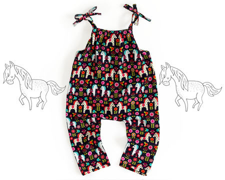 Download Romper sewing pattern PDF - Sewing Patterns immediately at Makerist