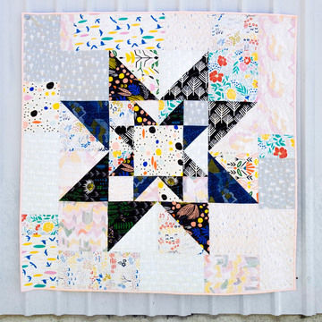 Download Double Star Quilt Pattern - Patchwork & Quilting immediately at Makerist