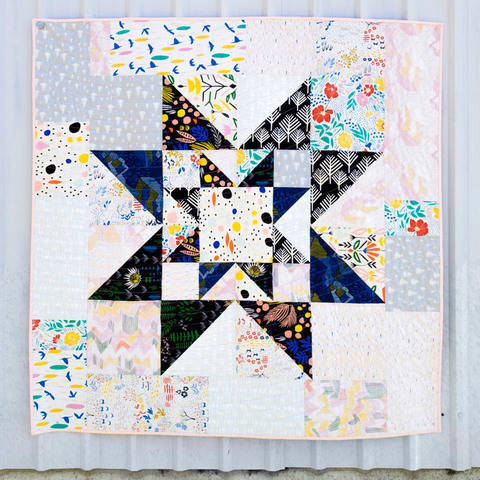 Download Double Star Quilt Pattern immediately at Makerist