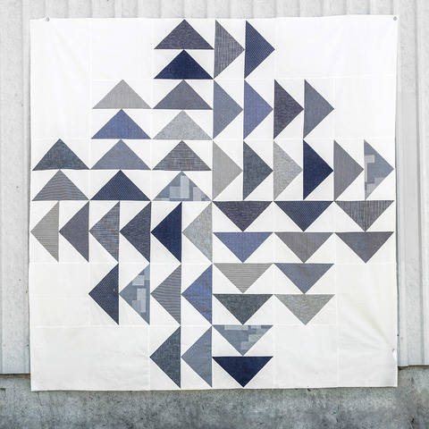 Download Four Winds Quilt Pattern immediately at Makerist