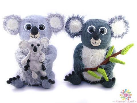 Flauschige Koalabär Familie bei Makerist sofort runterladen
