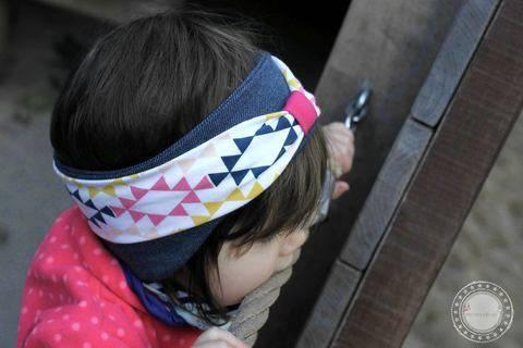 """Stirnband """"CURVES"""" Nähanleitung und Schnittmuster für KU 44-62 bei Makerist sofort runterladen"""