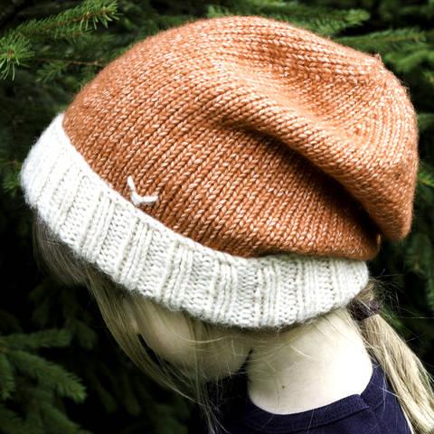 Mütze (Beanie) Fuchs - Strickanleitung, einfach und warm bei Makerist sofort runterladen