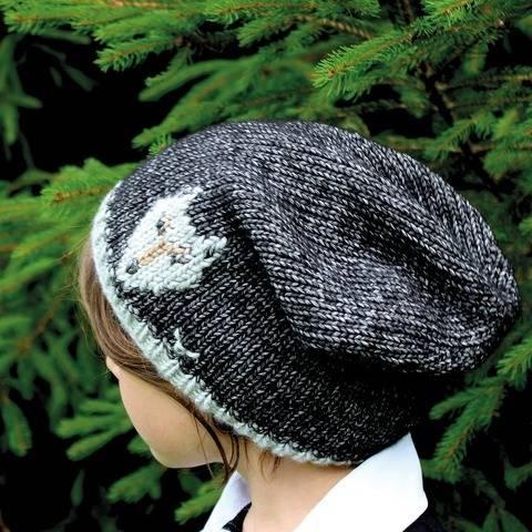 Mütze (Beanie) Wolf - Strickanleitung, einfach und warm bei Makerist sofort runterladen