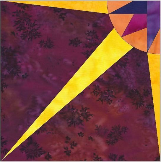 Download HC Quarter Star 5 - 10 Inch Paper Piecing Foundation Quilting Pattern - Patchwork & Quilting immediately at Makerist