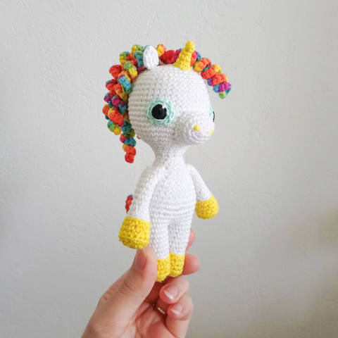 Download Marcia The Unicorn - Amigurumi crochet written pattern immediately at Makerist