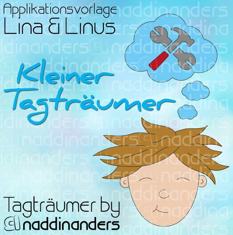 Appliziervorlage Tagträumer Linus bei Makerist sofort runterladen