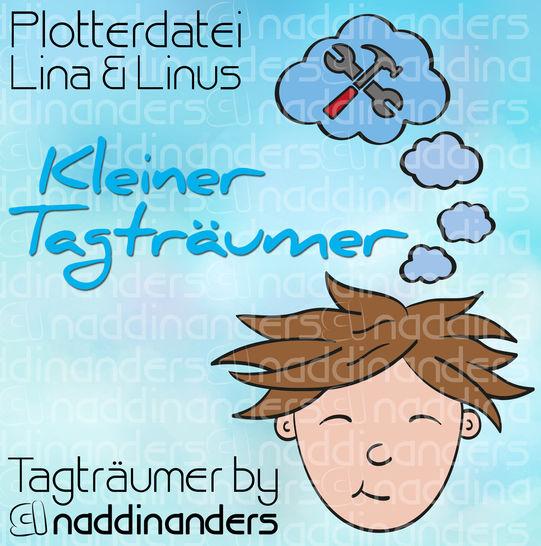 Plotterdatei Tagträumer Linus - Plotterdateien bei Makerist sofort runterladen