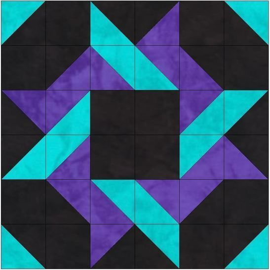 Download HC Saw 15 Inch Block Template Quilting Pattern - Patchwork & Quilting immediately at Makerist