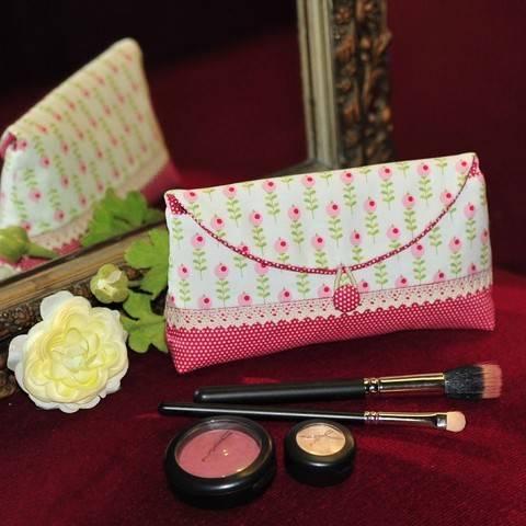 Kosmetiktäschchen - Nähanleitung bei Makerist sofort runterladen