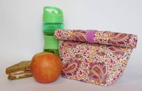 Lunchbag / Brotbeutel - Nähanleitung bei Makerist sofort runterladen