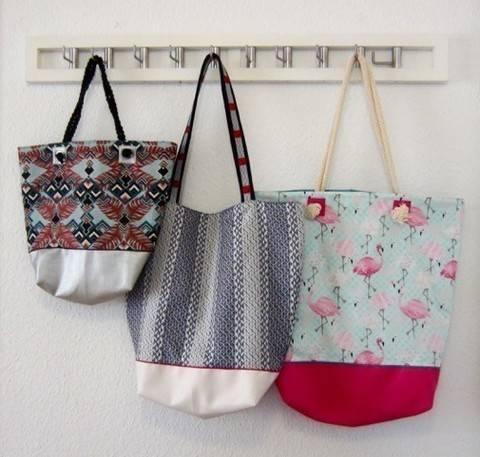 Shopper/Strandtasche - Nähanleitung bei Makerist sofort runterladen