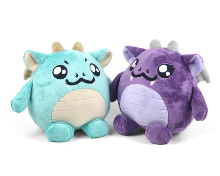 Download Chubby Dragon Plush Toy Sewing Pattern - Sewing Patterns immediately at Makerist