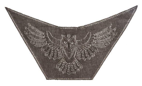 Download Who's Whooo Owl Shawl - Knitting Patterns immediately at Makerist