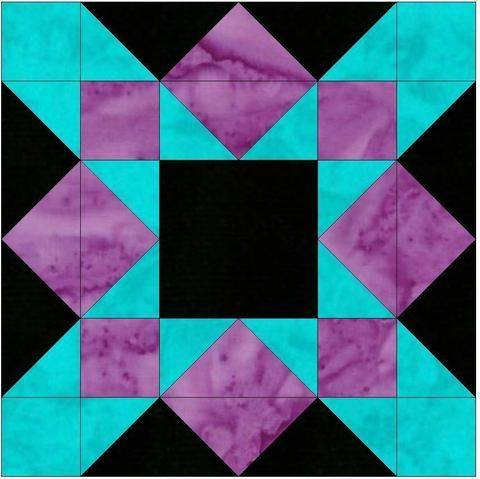 Download HC Crossing 15 Inch Block Quilting Template Pattern immediately at Makerist