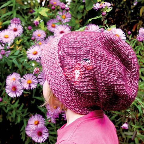 Mütze (Beanie) Flamingo - Strickanleitung, einfach und warm bei Makerist sofort runterladen