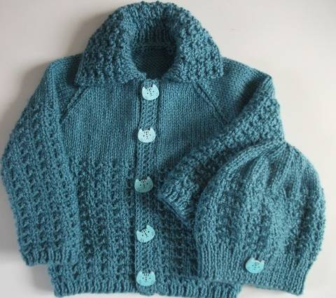 Download Bobby Jacket and Hat Knitting pattern immediately at Makerist