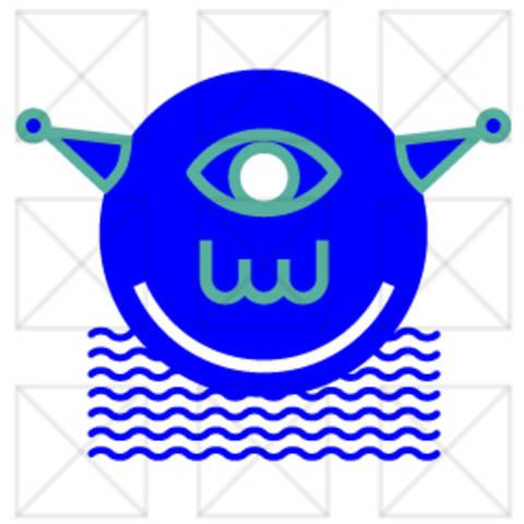 Die blauen Köpfe - Alien - Plotterdatei bei Makerist sofort runterladen