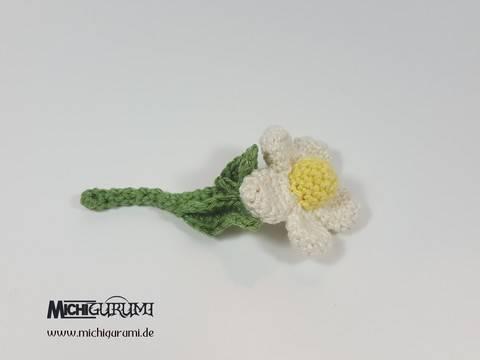 Häkelanleitung: Blume bei Makerist sofort runterladen