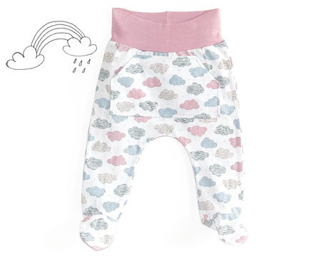 Download Baby footed pants sewing pattern PDF - Sewing Patterns immediately at Makerist