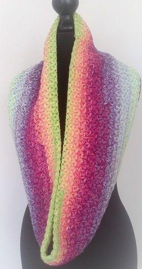 "Download Crochet Pattern Loop ""Stars"" - Crochet Patterns immediately at Makerist"