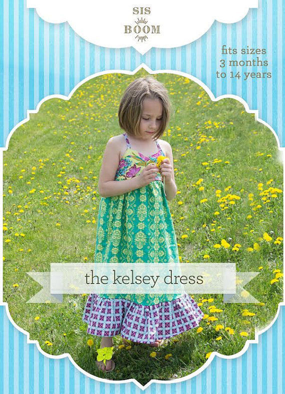 Sis Boom Pattern Co Kelsey Top/Dress for Girls