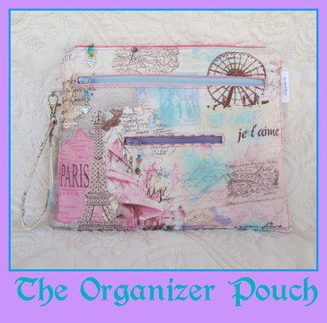 Download Organizer Pouch~ A Bag with 5 zippered Pockets - Sewing Patterns immediately at Makerist
