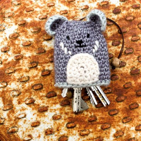 Schlüsselanhänger/Etui Koala - Häkelanleitung bei Makerist sofort runterladen