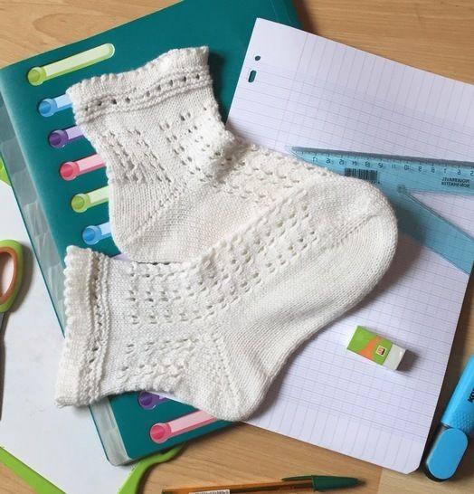 Télécharger Les Gisèle Socks, les chaussettes de la rentrée  - Modèles de tricot tout de suite sur Makerist