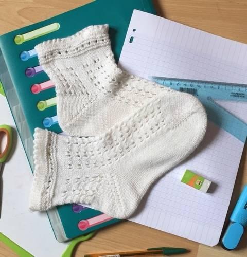 Télécharger Les Gisèle Socks, les chaussettes de la rentrée  tout de suite sur Makerist