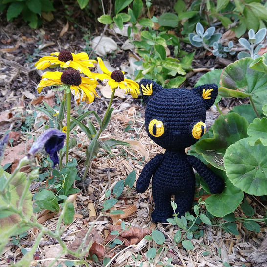 Télécharger Némésis Le Chat Noir d'Halloween - Modèles de crochet tout de suite sur Makerist