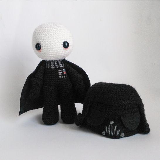 Télécharger Dark Vador avec casque amovible - Modèles de crochet tout de suite sur Makerist