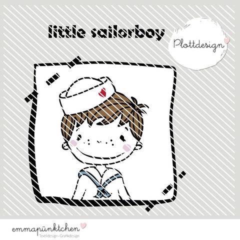 emmapünktchen ® - little sailor boy plottdesign bei Makerist sofort runterladen