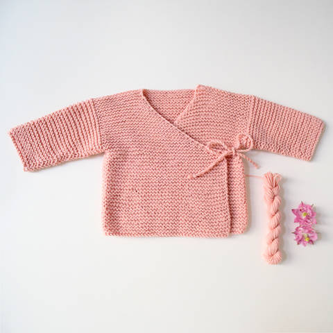 Download Wrap Cardigan MARIE / Knitting Pattern immediately at Makerist