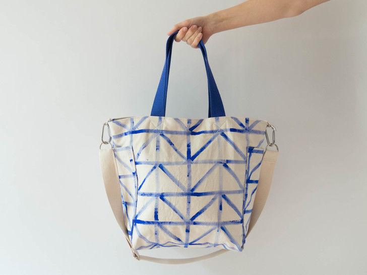 Mittelgroße Tasche mit Reißverschluss - Nähanleitungen bei Makerist sofort runterladen