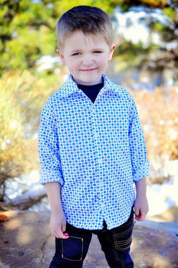 Download Sis Boom Pattern Co Ethan Boy's Button-Up Shirt - Sewing Patterns immediately at Makerist