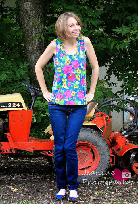 Download Sis Boom Pattern Co Tortola Top for Women immediately at Makerist